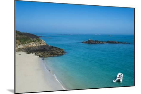 Belvoir Bay, Herm, Channel Islands, United Kingdom-Michael Runkel-Mounted Photographic Print