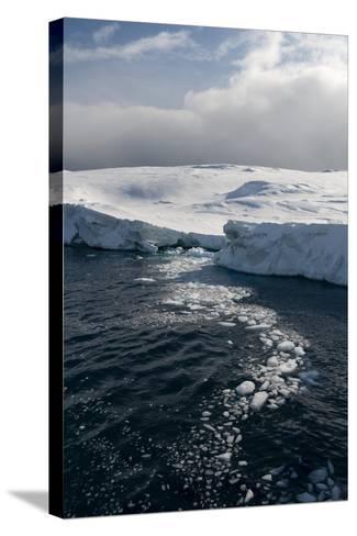 Icebergs in Ilulissat Icefjord, Greenland, Denmark, Polar Regions-Sergio Pitamitz-Stretched Canvas Print