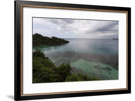 Discovery Bay, Where Christopher Columbus Landed, Ocho Rios-Sergio Pitamitz-Framed Art Print