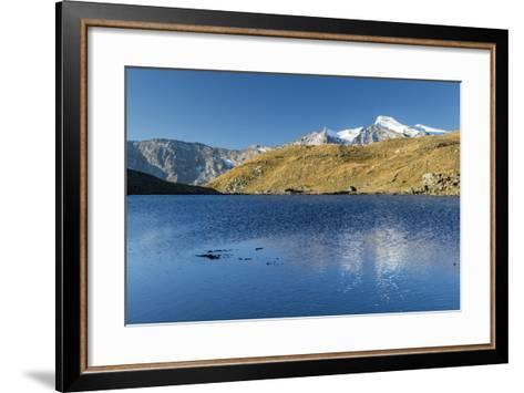 Sunrise and Reflections on Aiguille Rousse-Roberto Moiola-Framed Art Print