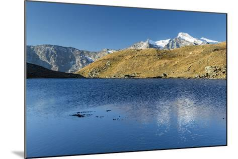 Sunrise and Reflections on Aiguille Rousse-Roberto Moiola-Mounted Photographic Print
