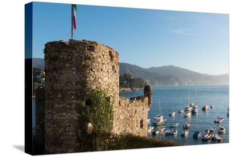 The 16th Century Castle, Santa Margherita Ligure, Genova (Genoa), Liguria, Italy, Europe-Carlo Morucchio-Stretched Canvas Print