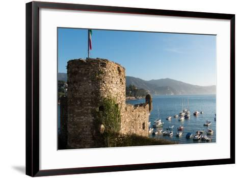 The 16th Century Castle, Santa Margherita Ligure, Genova (Genoa), Liguria, Italy, Europe-Carlo Morucchio-Framed Art Print