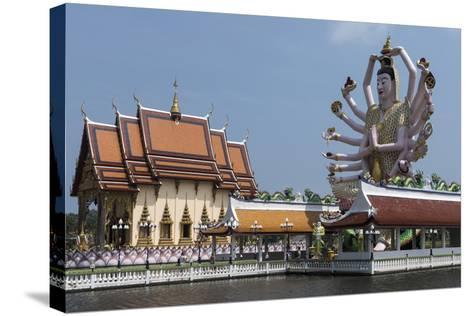 Choeng Mon Temple, Koh Samui, Thailand, Southeast Asia, Asia-Rolf Richardson-Stretched Canvas Print