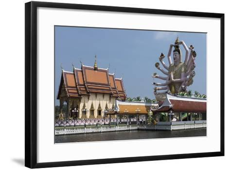 Choeng Mon Temple, Koh Samui, Thailand, Southeast Asia, Asia-Rolf Richardson-Framed Art Print