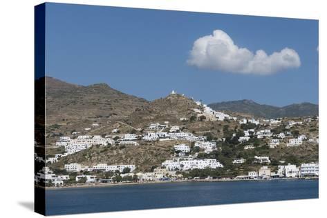 Gialos and Chora, Ios, Cyclades, Greek Islands, Greece-Rolf Richardson-Stretched Canvas Print