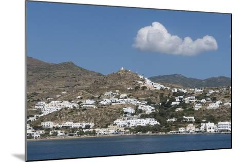 Gialos and Chora, Ios, Cyclades, Greek Islands, Greece-Rolf Richardson-Mounted Photographic Print