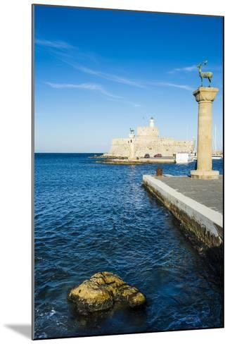 The Deers, the Medieval Old Town of the City of Rhodes, Rhodes, Dodecanese Islands, Greek Islands-Michael Runkel-Mounted Photographic Print