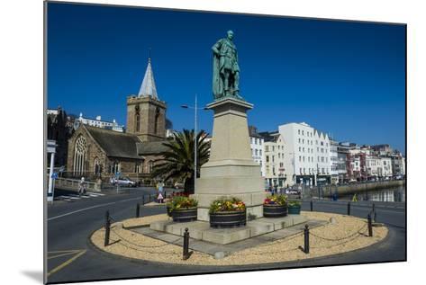 Prince Albert Statue, Saint Peter Port, Guernsey, Channel Islands, United Kingdom-Michael Runkel-Mounted Photographic Print