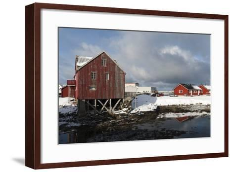 Andenes, Vesteralen Islands, Arctic, Norway, Scandinavia-Sergio Pitamitz-Framed Art Print