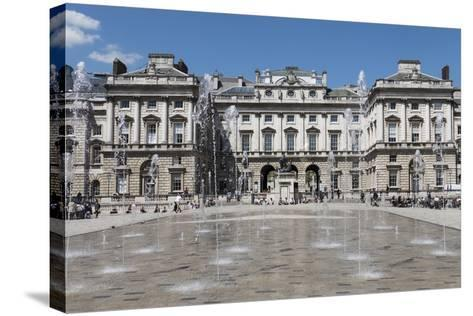 Somerset House, London, England, United Kingdom-Rolf Richardson-Stretched Canvas Print