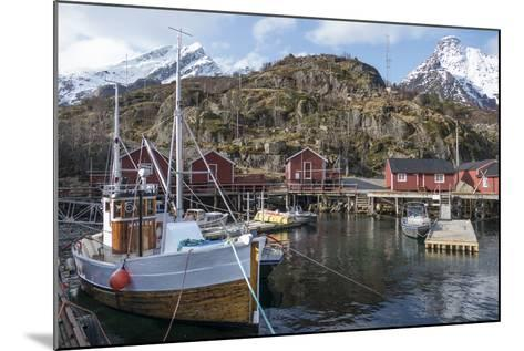 Nusfjord, Lofoten Islands, Nordland, Arctic, Norway, Scandinavia-Rolf Richardson-Mounted Photographic Print