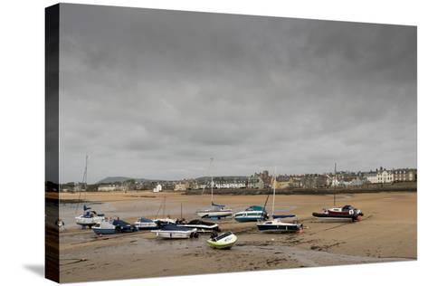 Elie at Low Tide, Fife Coast, Scotland, United Kingdom-Nick Servian-Stretched Canvas Print