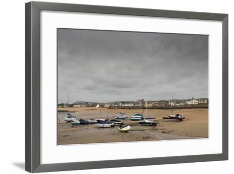 Elie at Low Tide, Fife Coast, Scotland, United Kingdom-Nick Servian-Framed Art Print