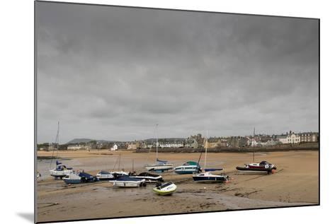 Elie at Low Tide, Fife Coast, Scotland, United Kingdom-Nick Servian-Mounted Photographic Print