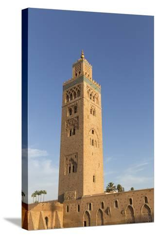 Minaret of Koutoubia Mosque, UNESCO World Heritage Site, Marrakesh, Morocco, North Africa, Africa-Stephen Studd-Stretched Canvas Print