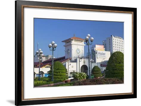 Ben Thanh Market, Ho Chi Minh City, Vietnam, Indochina, Southeast Asia, Asia-Ian Trower-Framed Art Print