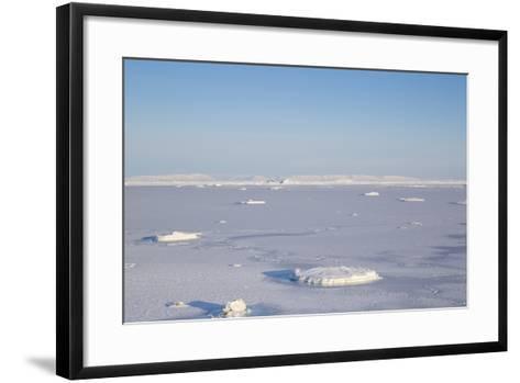 East Coast, Mohn Bukta, View of Storfjorden Fjord-Stephen Studd-Framed Art Print
