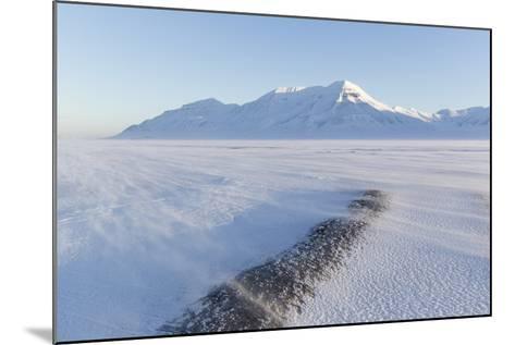 Sunrise View Towards Hiorthfjellet Mountain-Stephen Studd-Mounted Photographic Print