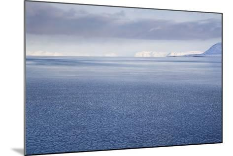 View from Longyearbyen to Adventfjorden Fjord-Stephen Studd-Mounted Photographic Print