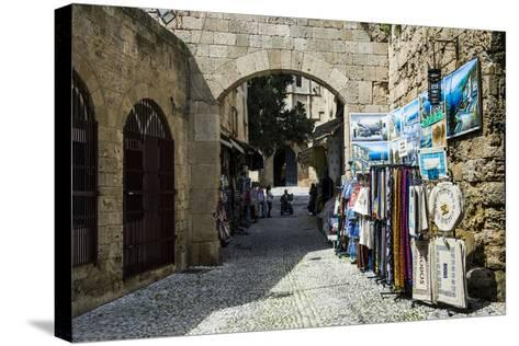 The Medieval Old Town. UNESCO World Heritage Site-Michael Runkel-Stretched Canvas Print