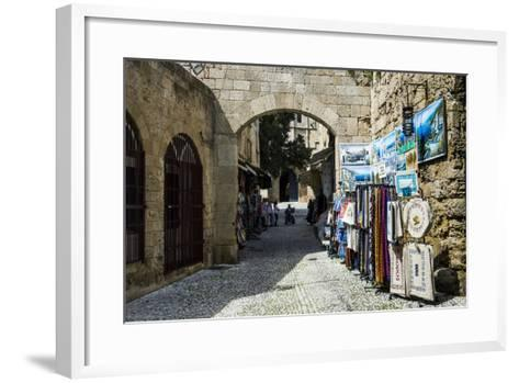 The Medieval Old Town. UNESCO World Heritage Site-Michael Runkel-Framed Art Print