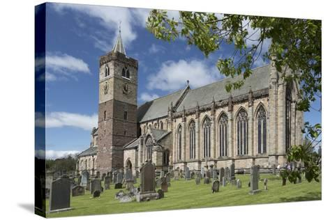 Dunblane Cathedral from the Southeast, Dunblane, Stirling, Cotland, United Kingdom-Nick Servian-Stretched Canvas Print