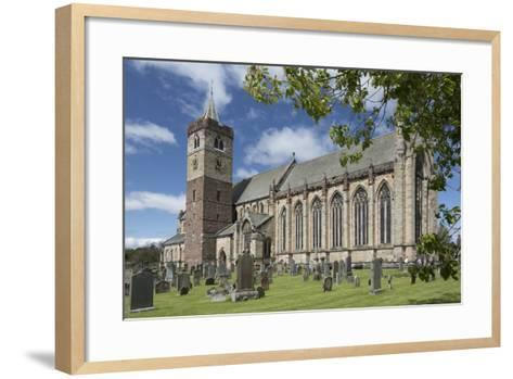 Dunblane Cathedral from the Southeast, Dunblane, Stirling, Cotland, United Kingdom-Nick Servian-Framed Art Print