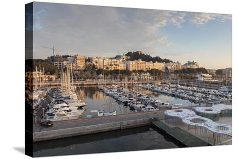 Cartagena from its Port, on an Autumn Early Morning, Murcia Region, Spain, Europe-Eleanor Scriven-Stretched Canvas Print