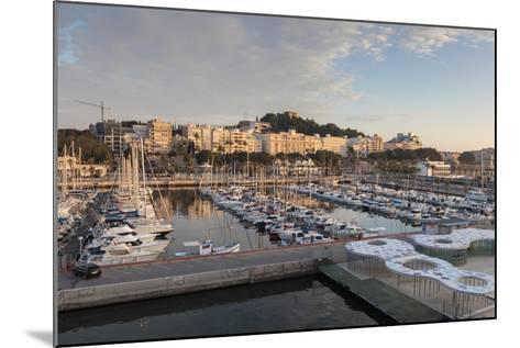 Cartagena from its Port, on an Autumn Early Morning, Murcia Region, Spain, Europe-Eleanor Scriven-Mounted Photographic Print