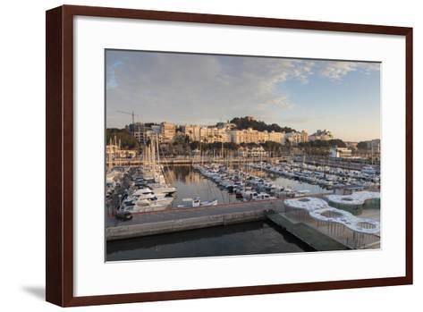 Cartagena from its Port, on an Autumn Early Morning, Murcia Region, Spain, Europe-Eleanor Scriven-Framed Art Print