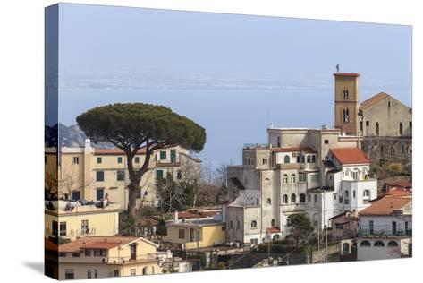 View of Ravello, from Scala, Costiera Amalfitana (Amalfi Coast), Campania, Italy-Eleanor Scriven-Stretched Canvas Print