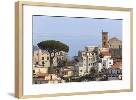 View of Ravello, from Scala, Costiera Amalfitana (Amalfi Coast), Campania, Italy-Eleanor Scriven-Framed Art Print