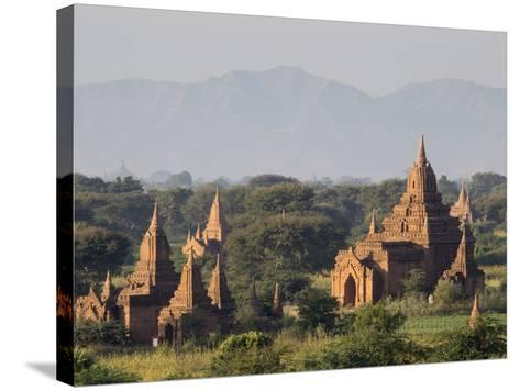 Temples, Bagan (Pagan), Myanmar (Burma)-Stephen Studd-Stretched Canvas Print