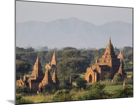 Temples, Bagan (Pagan), Myanmar (Burma)-Stephen Studd-Mounted Photographic Print