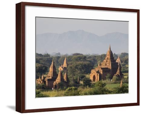 Temples, Bagan (Pagan), Myanmar (Burma)-Stephen Studd-Framed Art Print