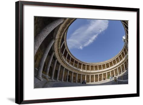 Palace of Charles V, Alhambra, Granada, Province of Granada, Andalusia, Spain-Michael Snell-Framed Art Print