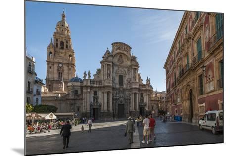 Cathedral De Santa Maria, Murcia, Region of Murcia, Spain-Michael Snell-Mounted Photographic Print