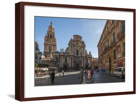 Cathedral De Santa Maria, Murcia, Region of Murcia, Spain-Michael Snell-Framed Art Print