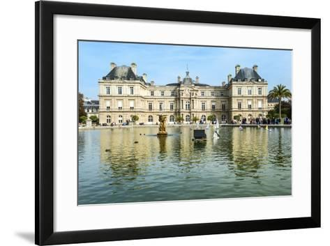 Luxembourg Palace and Gardens, Paris, France, Europe-G & M Therin-Weise-Framed Art Print