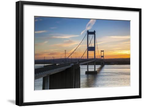 Old (First) Severn Bridge, Avon, England, United Kingdom-Billy Stock-Framed Art Print