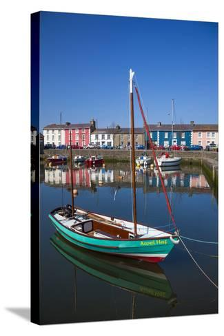 Aberaeron, Ceredigion, Wales, United Kingdom, Europe-Billy Stock-Stretched Canvas Print