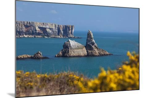 Church Rock, Broad Haven Beach, Pembrokeshire, West Wales, Wales, United Kingdom-Billy Stock-Mounted Photographic Print