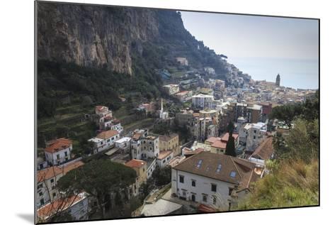 Elevated View of Amalfi, Costiera Amalfitana (Amalfi Coast), Campania, Italy-Eleanor Scriven-Mounted Photographic Print