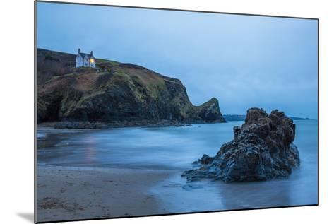 Llangrannog Beach, Ceredigion (Cardigan), West Wales, Wales, United Kingdom, Europe-Billy Stock-Mounted Photographic Print