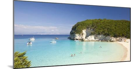 View across the Clear Turquoise Waters of Vrika Bay-Ruth Tomlinson-Mounted Photographic Print
