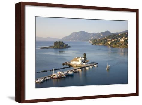 View to the Monastery of Panagia Vlacherna-Ruth Tomlinson-Framed Art Print