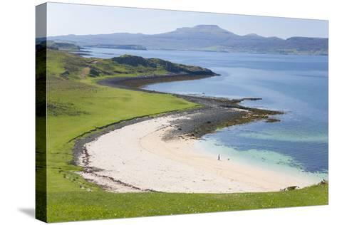 View over Coral Beach and Loch Dunvegan-Ruth Tomlinson-Stretched Canvas Print
