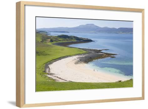 View over Coral Beach and Loch Dunvegan-Ruth Tomlinson-Framed Art Print