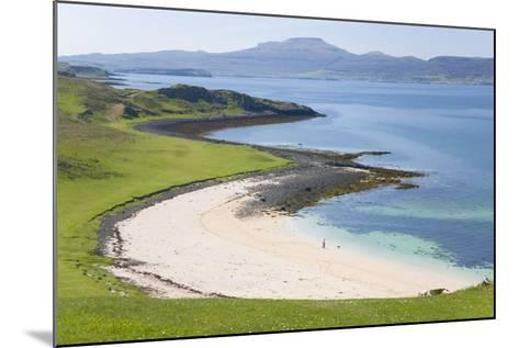 View over Coral Beach and Loch Dunvegan-Ruth Tomlinson-Mounted Photographic Print